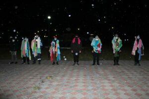 Дрожжановским призывникам вручили полотенца для удачной службы в армии