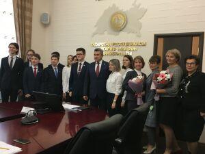 Хадиуллин – участникам «ПроеКТОрии»: Ваша победа – пример для других школьников