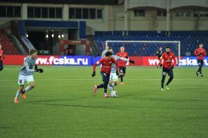 Футбольный «Нефтехимик» проиграл в Хабаровске