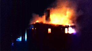 Мужчина погиб в пожаре, вспыхнувшем рано утром в деревне в Татарстане