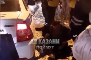 Казанского таксиста поймали пьяным инспекторы ДПС