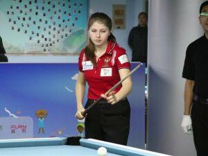 Дина Фатыхова завоевала четыре медали на чемпионате России по бильярду