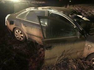 Водитель погиб, не справившись с управлением, на трассе в Татарстане