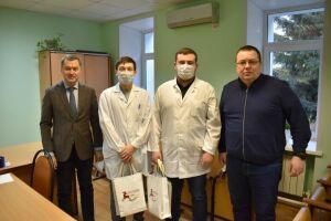 Четыре врача-ординатора помогают врачам в Алексеевской ЦРБ