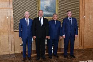 Минниханов обсудил с депутатом Госдумы поддержку МСБ Татарстана в период пандемии