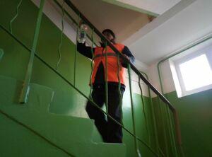 В Менделеевске возобновили тотальную дезинфекцию дворов