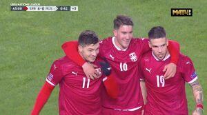 Сербский игрок, забивший два гола в ворота сборной России, заболел коронавирусом