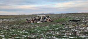 Сгоревший «БМВ» и тело водителя рядом нашли в поле в Татарстане