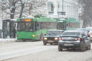 В первый день выходных в Татарстане ожидаются снег и метель