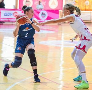 «Казаночка» выиграла в Ростове-на-Дону и вышла на первое место в Суперлиге-1