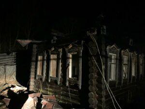 Мужчина погиб на пожаре в частном доме в Татарстане