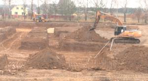 В селе Высокогорского района начали строить новое здание для школы и детсада