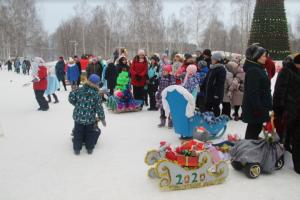 В Елабуге откроются конкурсы по изготовлению снежных фигур и оформлению окон