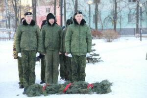 В Елабуге в День Героев Отечества кадеты приняли присягу