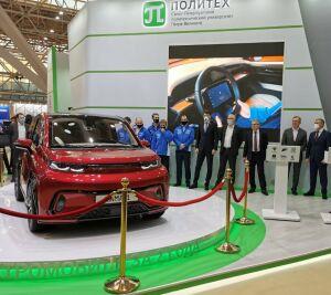 КАМАЗ презентовал первый полноценный российский электромобиль