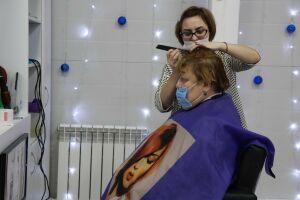 Менделеевцы с ограниченными возможностями здоровья смогли бесплатно подстричься