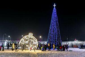 В Мамадыше откроется первая новогодняя елка