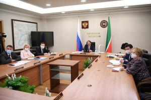 Песошин принял участие в совещании по вопросам борьбы с Covid-19