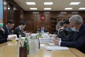 Минниханов обсудил с Хуснуллиным проекты, запланированные в РТ на 2021 год