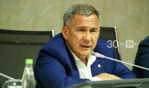 Минниханов потребовал строгого соблюдения антиковидных мер в Татарстане