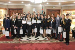 Ученика казанского лицея №159 признали «Знатоком конституционного права»