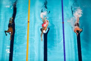 Сборная РТ осталась без медалей во второй день чемпионата России по плаванию