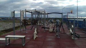 Новая площадка для сдачи нормативов ГТО открылась в Тюлячинском районе