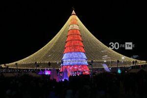 Названы даты открытия новогодних елок Казани
