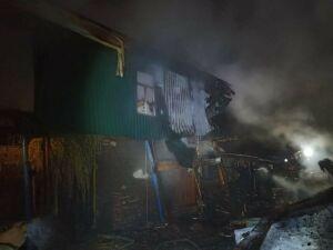 В сгоревшем доме в РТ обнаружено тело погибшей пожилой хозяйки