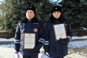 Благодаря сотрудникам ДПС в Казани роженица вовремя доехала до больницы