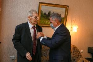 Президент Татарстана вручил первую премию имени Марковникова