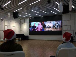 Всероссийский Дед Мороз рассказал детям о своей защите от коронавируса