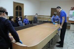 В Нижнекамске провели соревнования по инклюзивному теннису