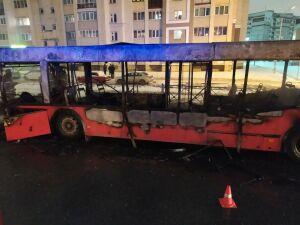 Прокуратура начала проверки после того, как за сутки в РТ сгорели два автобуса