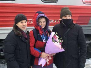 В Казань вернулась победительница Кубка мира по спортивной борьбе