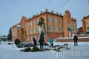 В Черемшанском районе выберут победителей лучшего новогоднего оформления