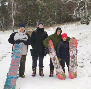 Спасских ребят обучат сноуборду и кайтингу