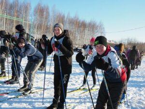В Нурлате открылся зимний спортивный сезон