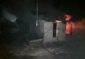 На пожаре в частном доме в Татарстане погибла 94-летняя женщина