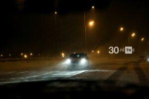 В Татарстане все населенные пункты вдоль федеральных трасс обеспечили освещением