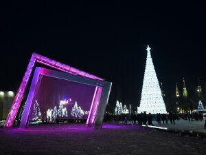 В Нижнекамске новогодние мероприятия начнутся с театрализации в парке «Семья»