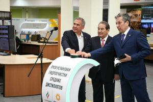 Минниханов запустил на «ТАНЕКО» новое производство дизельного топлива
