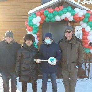 В Рыбно-Слободском районе открылась модульная лыжная база