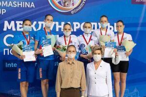 Татарстанские синхронисты взяли серебро и бронзу на Кубке Светланы Ромашиной