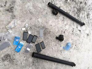 Мужчина пытался провезти в казанскую колонию наркотики и сотовые в карданном вале