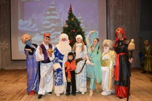 Для отличников Нурлатского района провели традиционную елку главы района