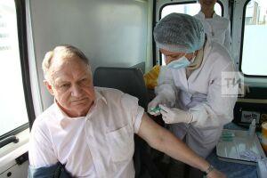 В Татарстане привили от гриппа более 2 млн жителей