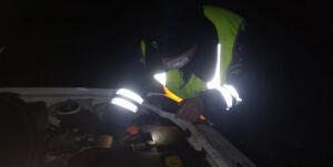 Сотрудник ГИБДД привез к родным женщину с сыном, замерзших на трассе в Татарстане
