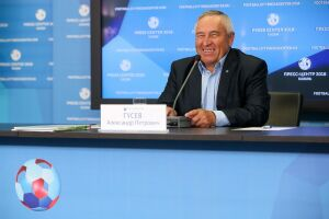 Александр Гусев: По игре «Рубин» — одна из лучших команд в премьер-лиге