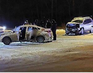 В столкновении двух иномарок на трассе в Татарстане погибли два человека